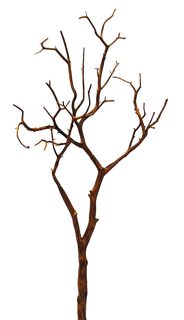 Faux Manzinita Branch Brown Bendable 39 Inch