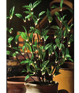 Lighted Branches Electric Battery Operated Amp Electric Twigs