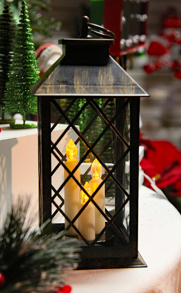Battery Operated Led Candle Lantern Colonial Style 3