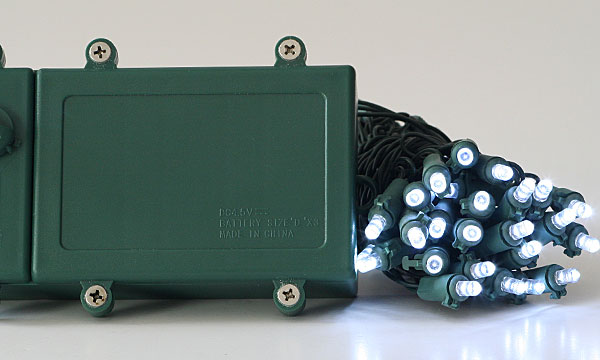Battery operated 50 white led string lights outdoor timer battery operated 100 white led lights outdoor multi funciton aloadofball Gallery