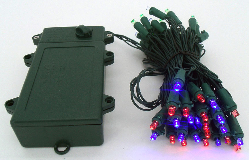 battery operated outdoor led christmas lights with timer. Black Bedroom Furniture Sets. Home Design Ideas