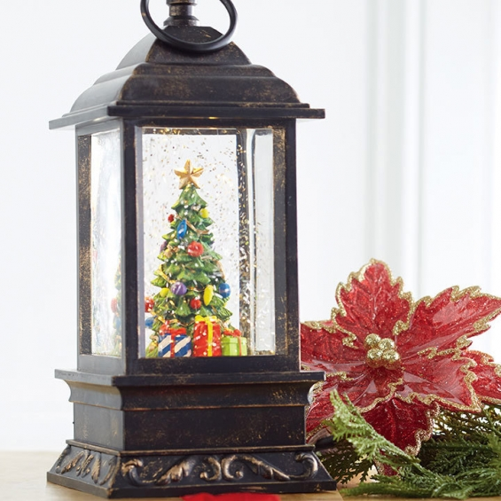 How Often To Water Christmas Tree.9 5 Inch Christmas Tree Lighted Musical Water Lantern With Timer