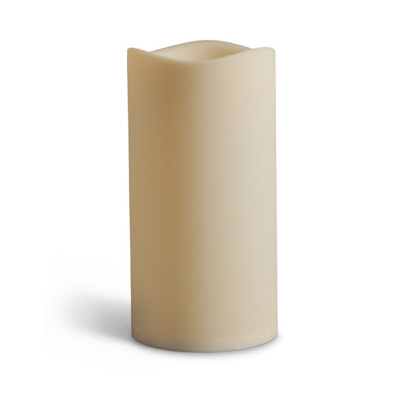 Large outdoor battery operated candle 6 x 12 timer for Large outdoor christmas candles