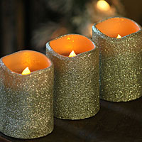 battery powered christmas candles image antique and candle victimassistorg - Battery Operated Christmas Candles