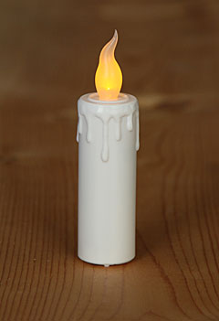 Super Bright Flameless Mini Led Taper Candle 4 Inch