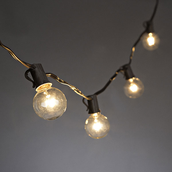 Cafe String Lights Battery Operated : Set of 20 Bulbs Cafe Style Patio String Lights - 20 Feet - Buy Now