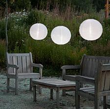allsop 14 inch white outdoor solar powered lantern with dual white led - Solar Powered Lanterns