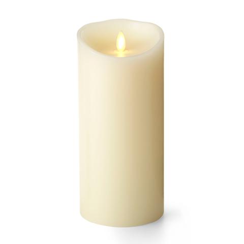 Luminara Ivory Candle Battery Operated 4 X 9 Timer