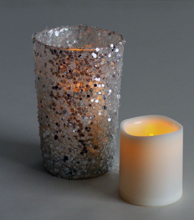 Large Votive Size Flameless Tealight With 5 Hour Timer