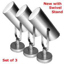 floral spotlight set of 3 battery operated remote. Black Bedroom Furniture Sets. Home Design Ideas