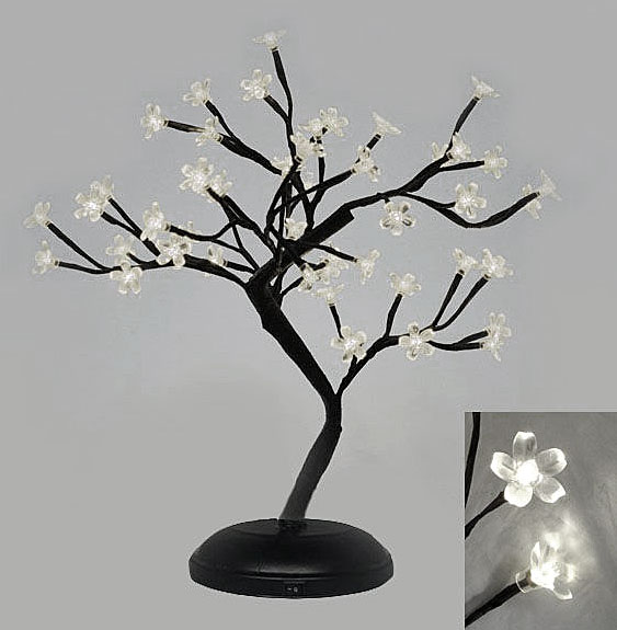 battery operated bonsai tree 18 inch 48 cool white lights battery operated lighting home lighting