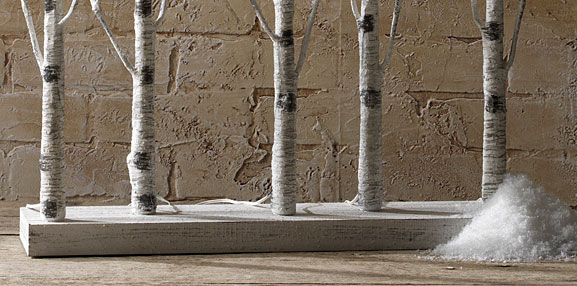 Raz Lighted Birch Tree Forest 30 Inch 88 Warm White Led S