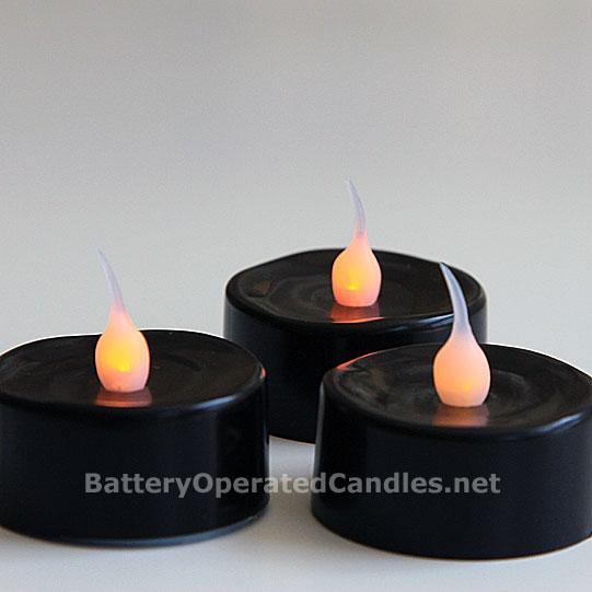 Battery operated candles safe flameless tea lights ask for Ikea tea light battery