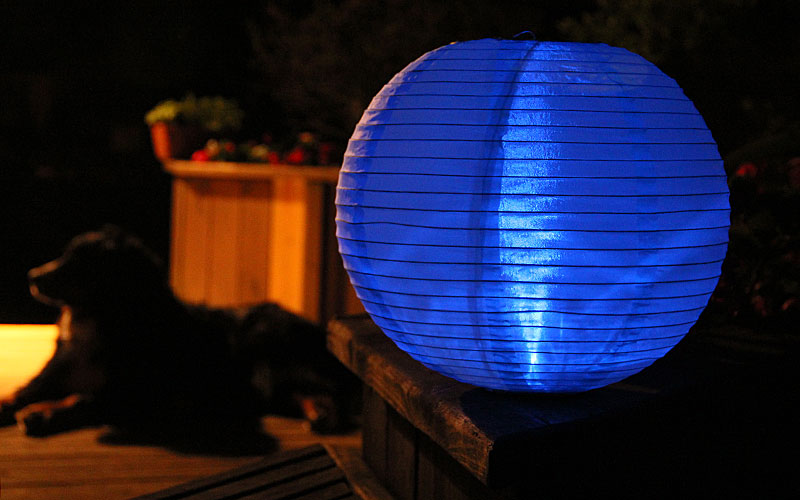 Battery Operated Nylon Lanterns 42
