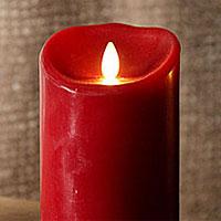 Luminara Candles | Dancing Flame Battery Operated Candle