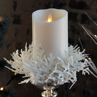 Battery Operated Candles Christmas Decorations