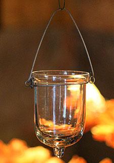 Outdoor Tea Light Holders Hanging glass tealight holder set of 6 3 inches buy now hanging glass tealight holder set of 6 3 inches workwithnaturefo