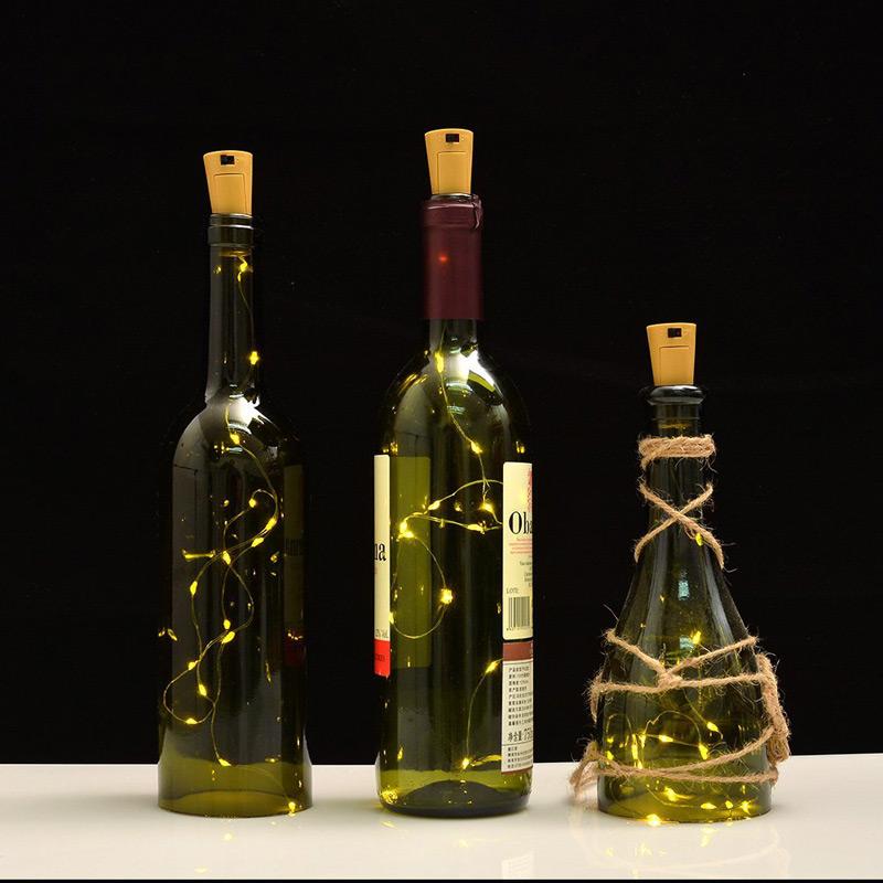String Lights For Bottles : Bottle String Lights - Warm White Set of 6 - Buy Now