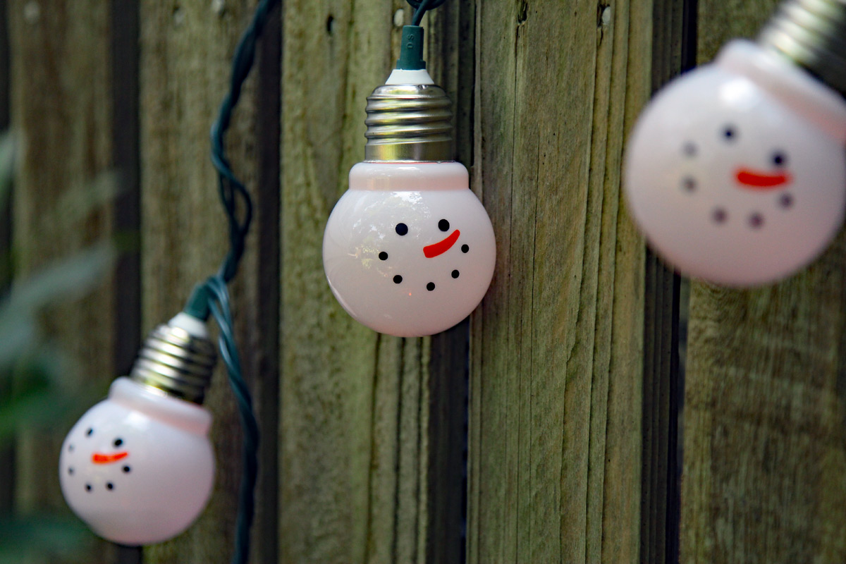 Electric Snowman String Light 10 Count Buy Now