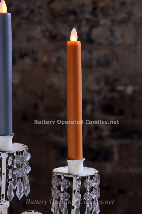 Moving Flame Battery Operated Taper Candle