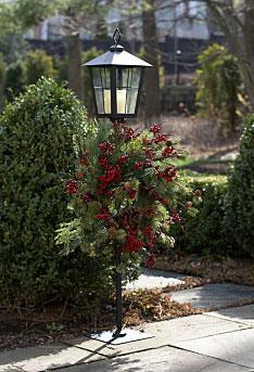 Black Lantern Wreath Holder 43 5 Inch Buy Now