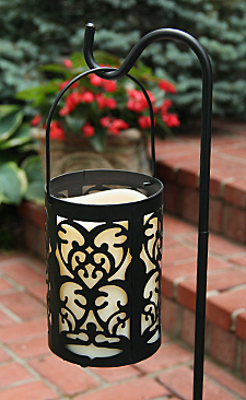 Hanging Lantern 5x7 Battery Operated Candle With Timer