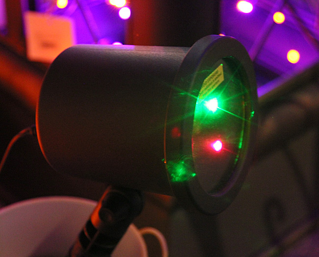 christmas laser light show with green and red lights photo cell - Laser Light Show Christmas