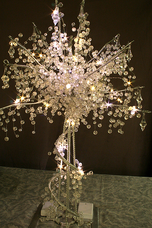 Lit Crystal Wedding Tree 24