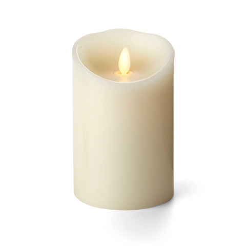 Luminara Ivory Candle Battery Operated 3 5 X 5 Timer
