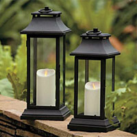 Indoor & Outdoor Flameless Candle Lanterns