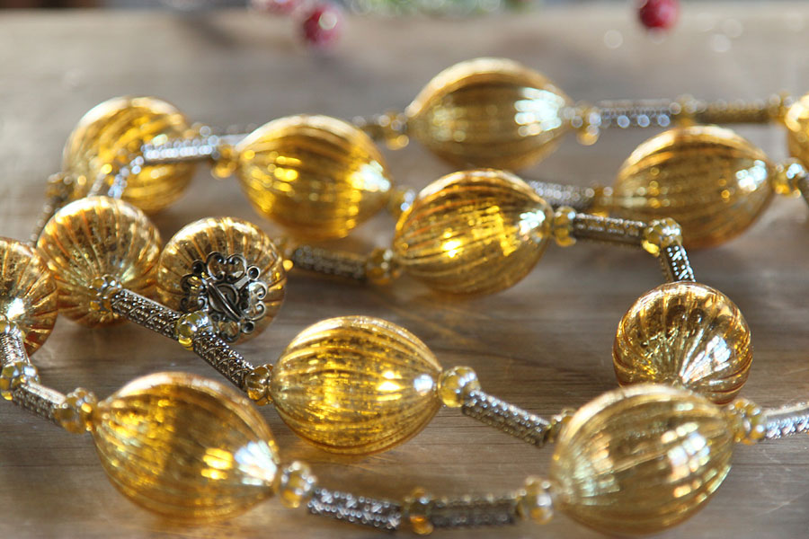 Gold Mercury String Lights : Battery Operated Twinkling Gold Mercury Glass LED String Lights - Buy Now