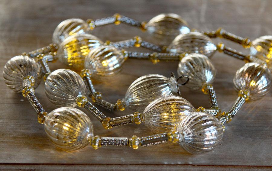 Gold Mercury String Lights : battery operated twinkling led string - 28 images - battery operated silver mercury glass ...