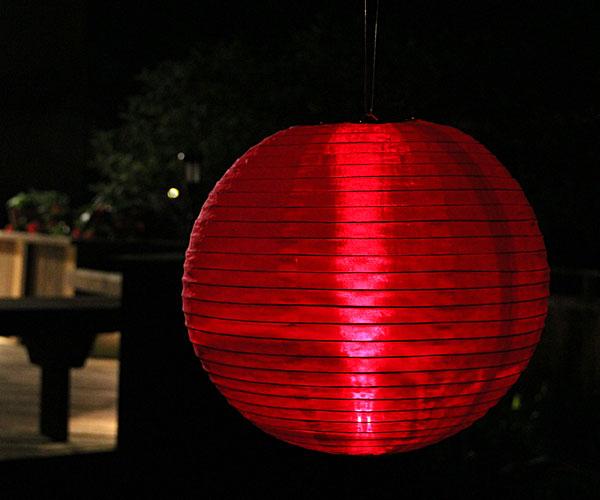 Battery Operated Nylon Lanterns 52