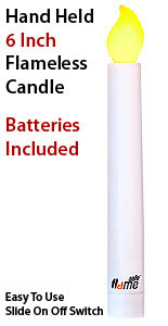Safe Flame Led Vigil Candle Batteries Included Buy Now