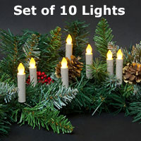Battery Operated Candles Christmas Candles