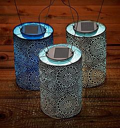 Allsop Soji Solar Stella Outdoor Lantern