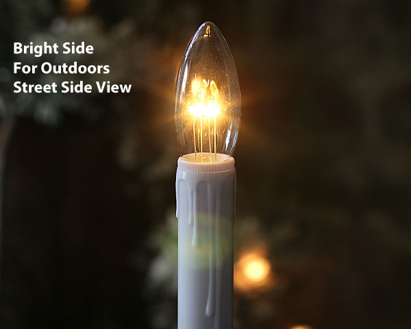 bright battery operated window candles - Led Christmas Candles