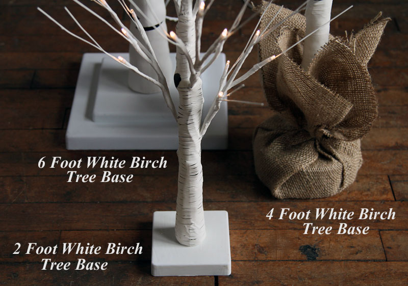 White Battery Operated Christmas Tree Candles