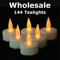 wholesale tea light candles 144 with batteries. Black Bedroom Furniture Sets. Home Design Ideas