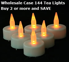 Wholesale Tea Light Candles 144 With Batteries Buy Now